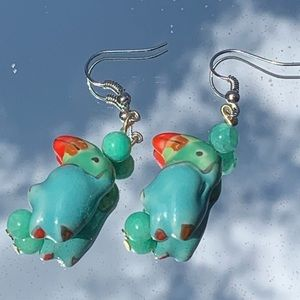 Tropical Toucan Earrings